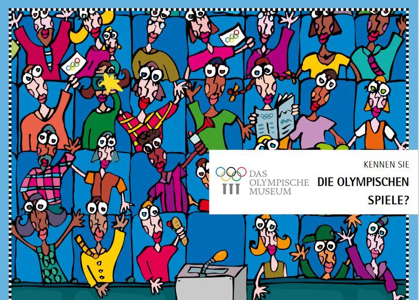 Cover: Kennen Sie die Olympischen Spiele?