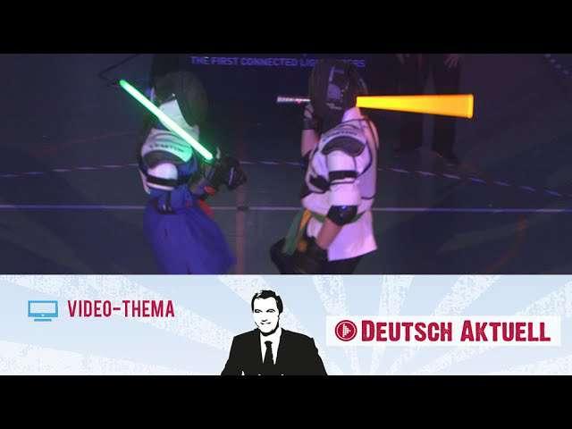 Cover: Kämpfen wie im Kino   Deutsch lernen mit Videos