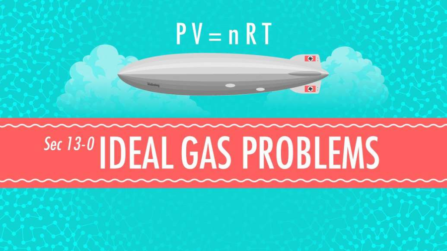 Cover: Ideal Gas Problems: Crash Course Chemistry