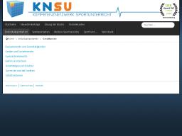 Cover: KNSU - Gerätturnen