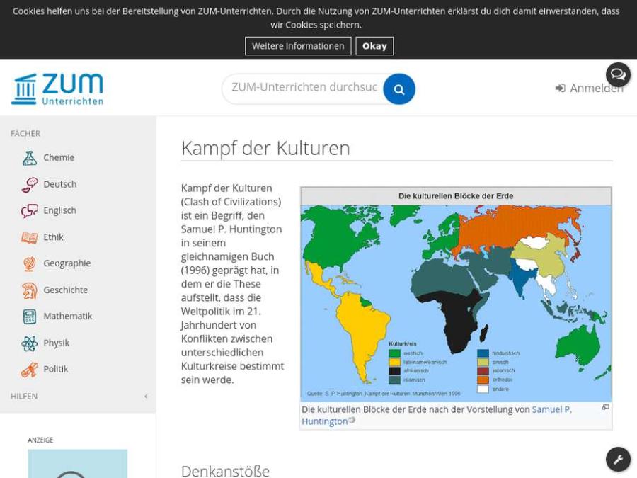 Cover: Kampf der Kulturen - Stichwort & Denkanstoß