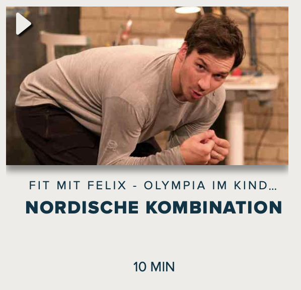 Cover: Fit mit Felix - Olympia im Kinderzimmer : Nordische Kombination