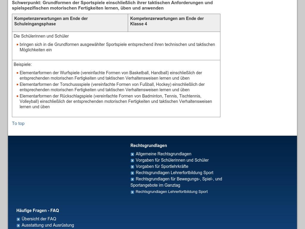 Cover: Spielen in und mit Regelstrukturen – Sportspiele- Schulsport NRW