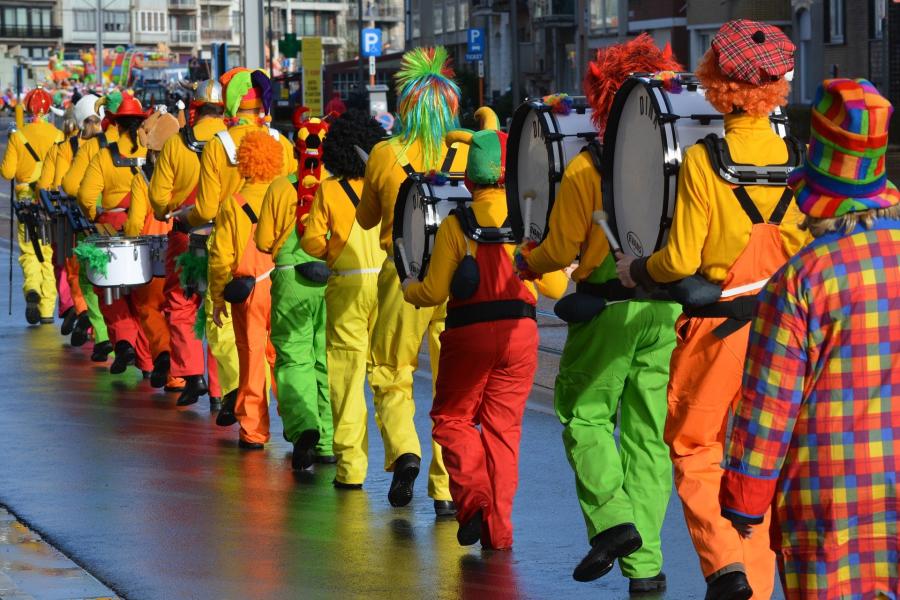 Cover: Karnevals-, Fastnachts- und Faschingszeit