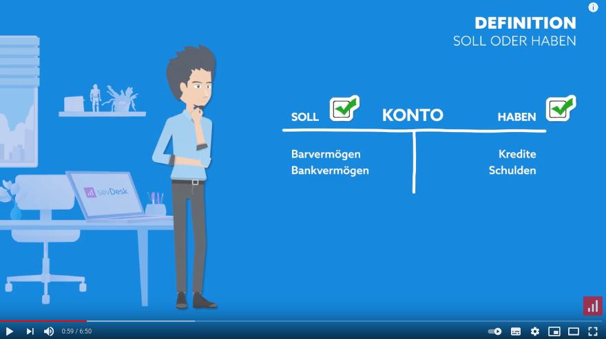 Cover: Soll und Haben | Beide Seiten einfach erklärt - YouTube