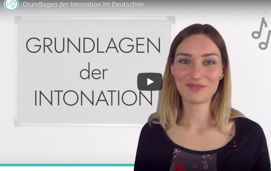 Cover: Grundlagen der Intonation im Deutschen
