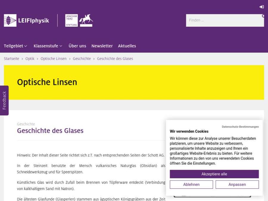Cover: Geschichte des Glases
