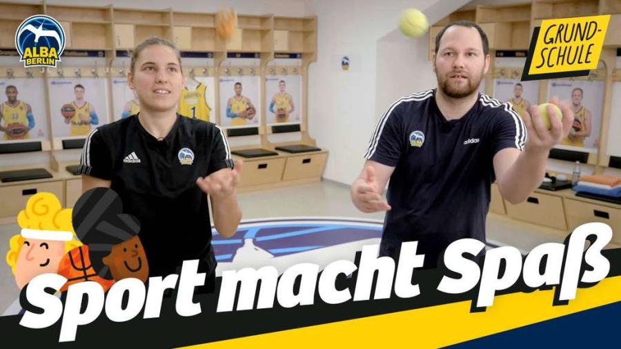 Cover: Grundschule 24   Jonglieren – Mit drei Bällen   Sport macht Spaß