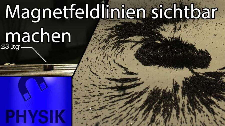 Cover: Einfluss von Neodym-Magnete - Magnetfeldlinien und Co