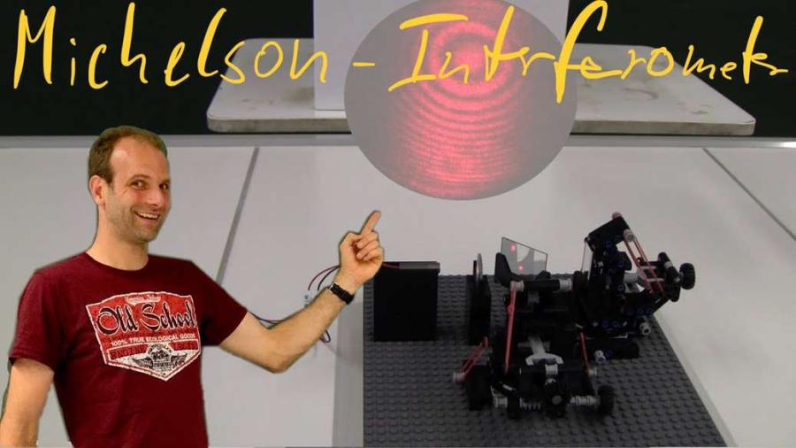 Cover: Michelson Interferometer - Experiment und Erklärung