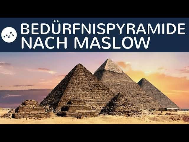Cover: Bedürfnispyramide nach Maslow einfach erklärt - Aufbau, Bedeutung, Anwendung