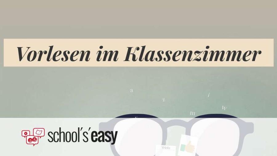 Cover: Vorlesen in der Schule - Tipps und Tricks