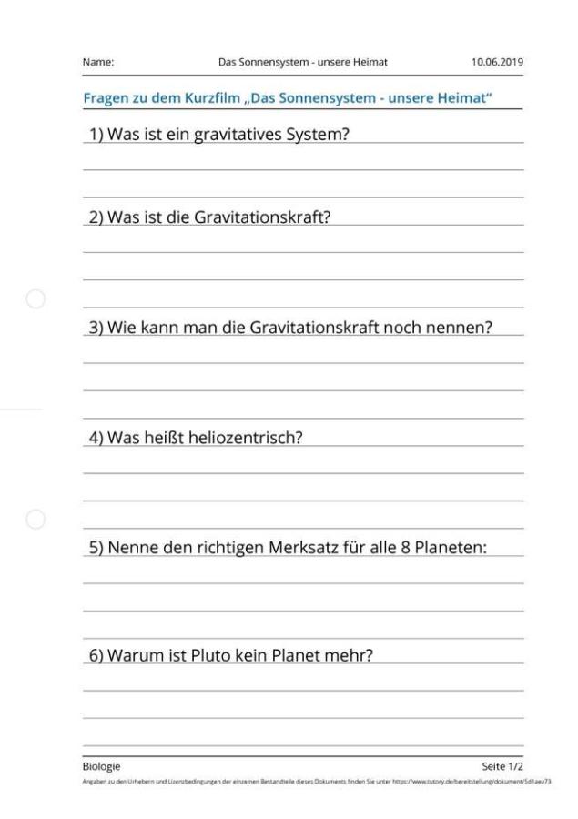 Cover: Das Sonnensystem - unsere Heimat