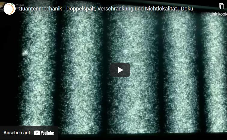 Cover: Quantenmechanik - Doppelspalt, Verschränkung und Nichtlokalität   Doku - YouTube