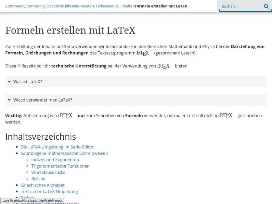 Cover: Formeln erstellen mit LaTeX