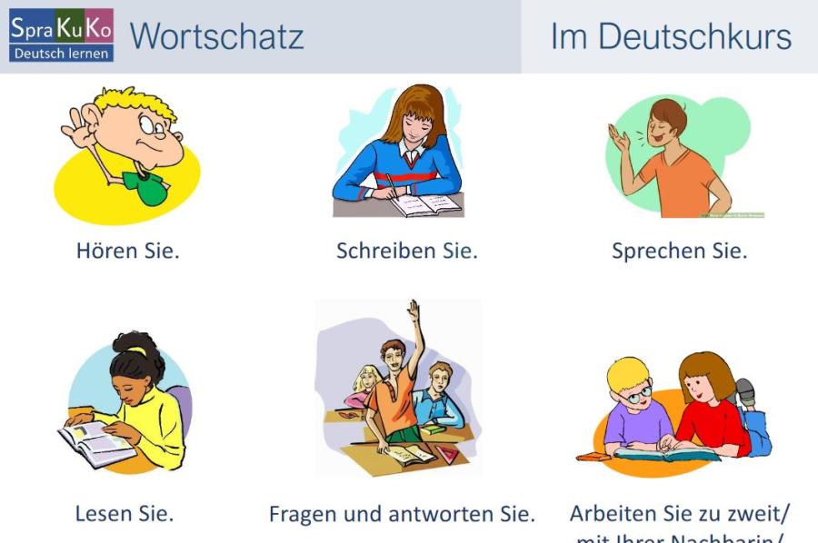 Cover: Im Deutschkurs | Wortschatz