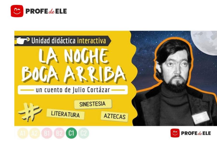 Cover: La noche boca arriba | Cuento de Julio Cortázar