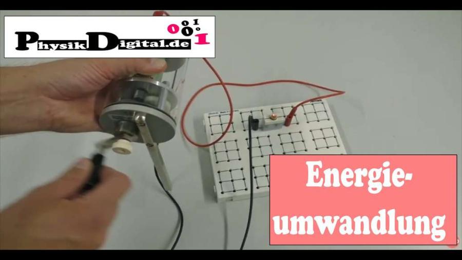 Cover: Umwandlung mechanischer Energie in elektrische Energie 2