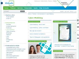 Cover: Cyber-Mobbing - klicksafe.de