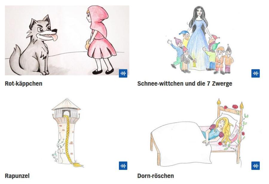 Cover: Märchen in leichter Sprache und Gebärdensprache