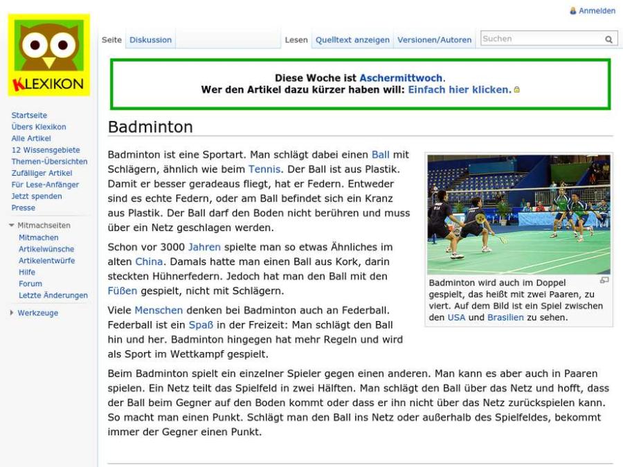 Cover: Badminton