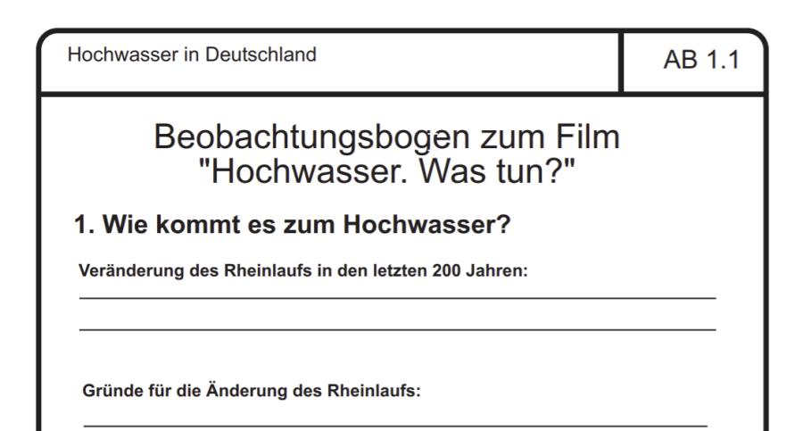 Cover: Hochwasser und Katastrophenvorsorge am Beispiel des Rheins