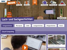 Cover: Cloud - Die Seite mit der Maus - WDR