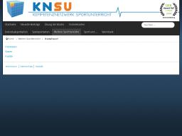 Cover: KNSU - Kampfsport