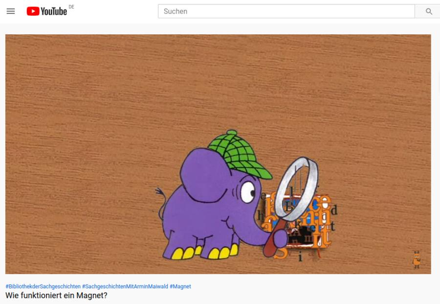 Cover: Wie funktioniert ein Magnet? - YouTube