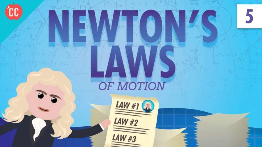 Cover: Newton's Laws: Crash Course Physics #5
