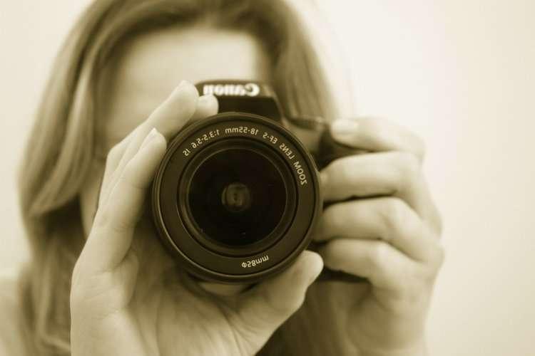 Cover: Eine Geschichte unter Einbeziehung von Kameraperspektiven und -einstellungen bebildern.