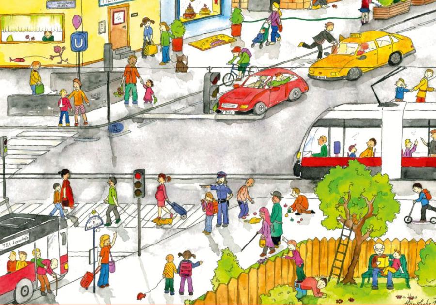 Cover: Wimmelbild | Verkehr