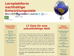 Cover: Lernplattform für nachhaltige Entwicklungsziele
