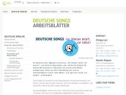 Cover: Deutsche Songs     Ich spreche nicht, ich singe!