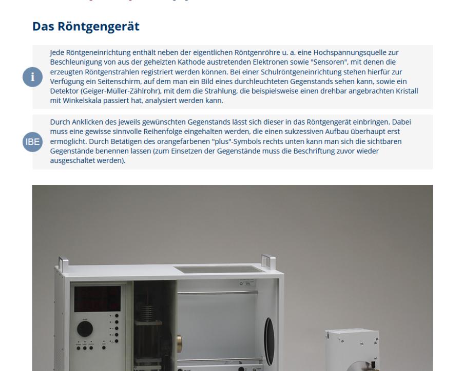 Cover: Virtuelles Experiment: Die Röntgenröhre