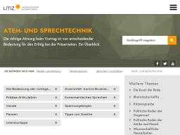 Cover: Atem- und Sprechtechnik - Landesmedienzentrum Baden-Württemberg