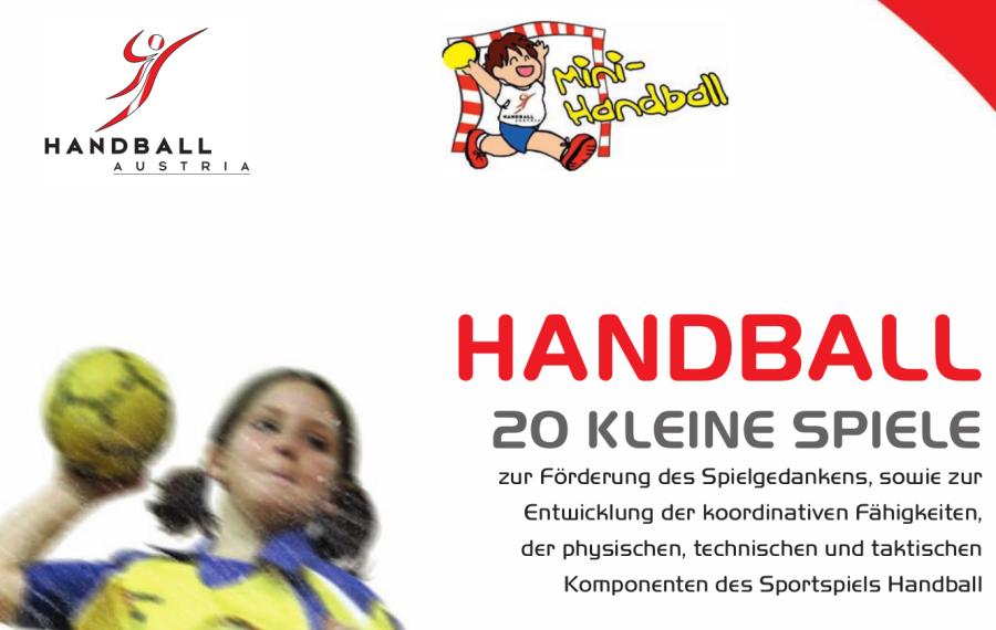 Cover: Handball - 20 kleine Spiele
