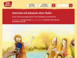 Cover: Interview mit Johannes dem Täufer | Kamishibai
