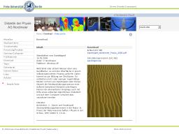 Cover: Simulation von Sandrippel