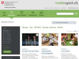 Cover: Badminton - Videos - mobilesport.ch