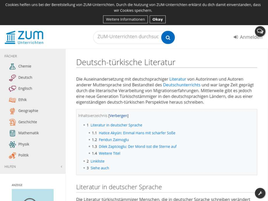 Cover: Deutsch-türkische Literatur