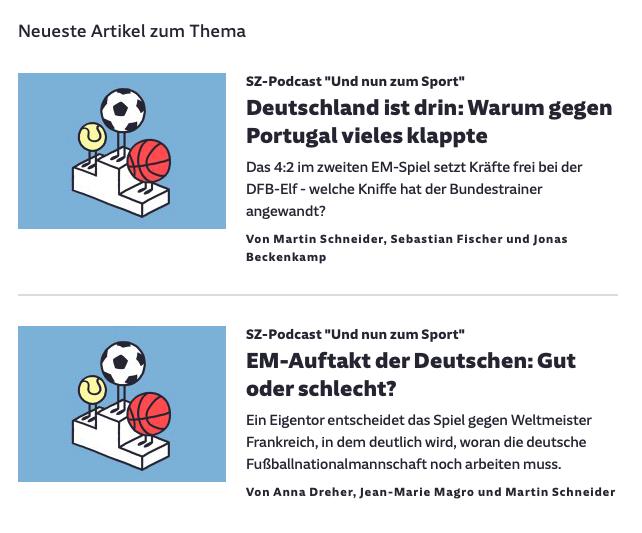 Cover: Der Sport-Podcast der SZ