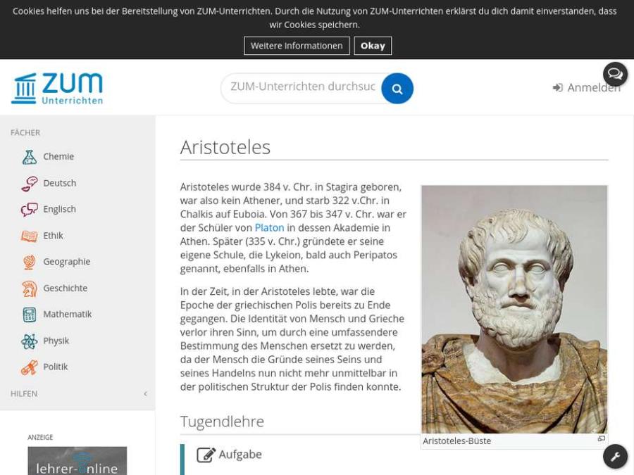 Cover: Aristoteles