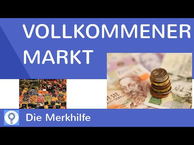 Cover: Die Preisbildung bei vollkommener Konkurrenz - Vollkommener Markt   WirtschaftBasics 27