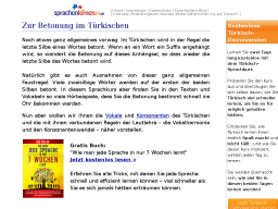 Cover: Aussprache der Vokale im Tuerkischen