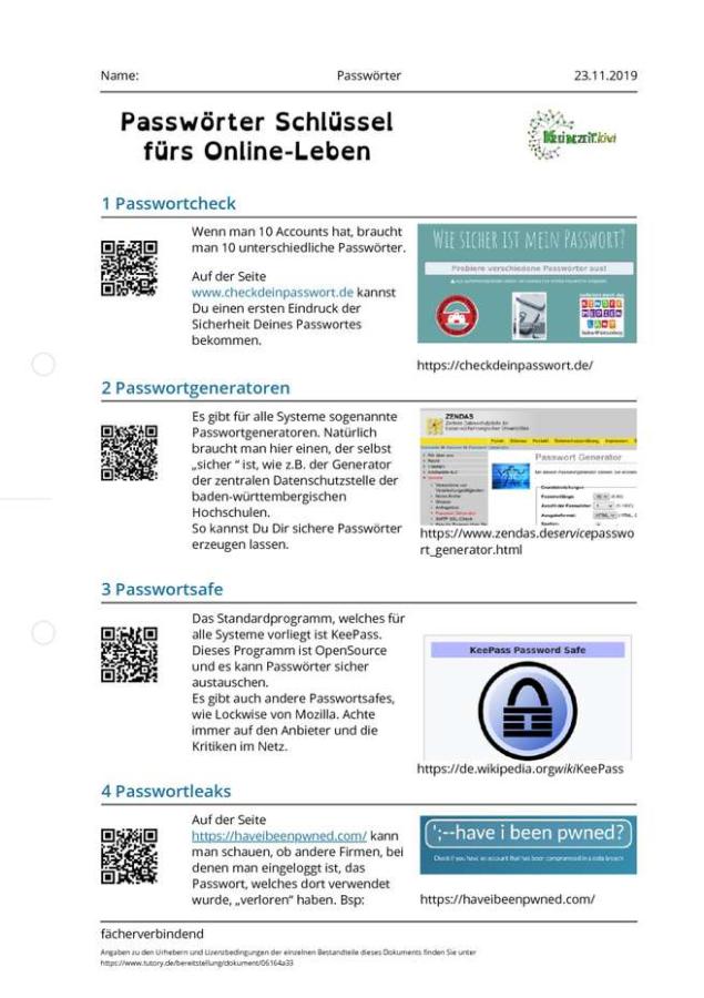 Cover: Passwörter - Schlüssel fürs Online-Leben
