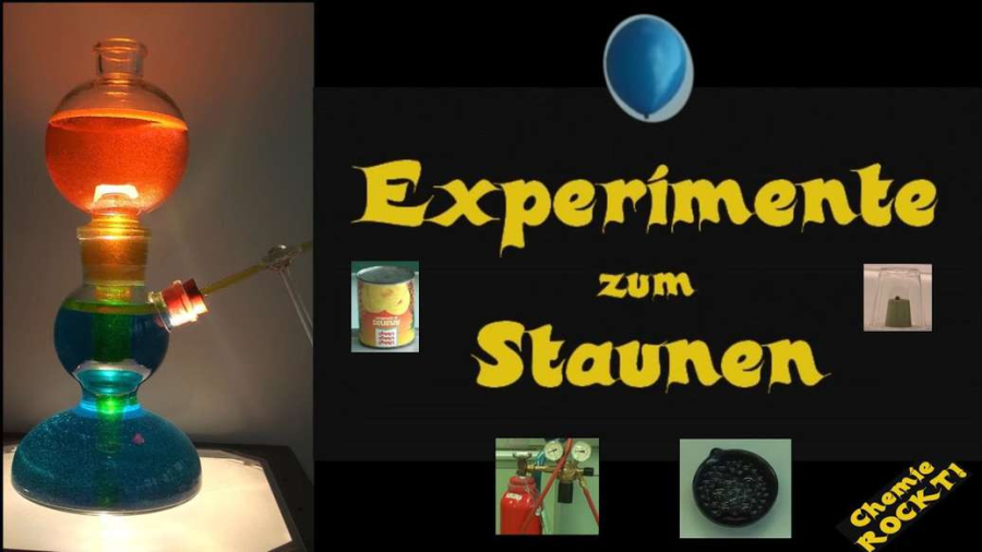 Cover: Knallgas^4 - Schaum, Platinkügelchen, Dose und Lufballon