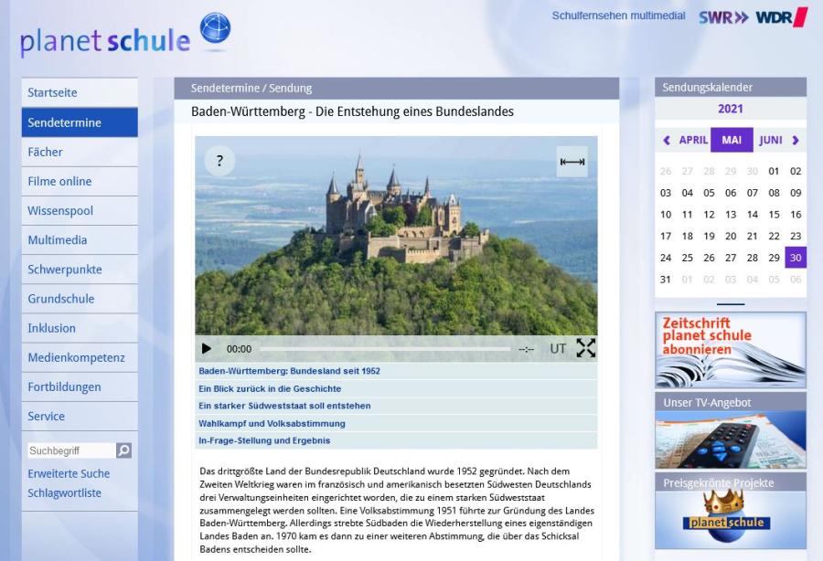 Cover: Geschichte Baden-Württembergs