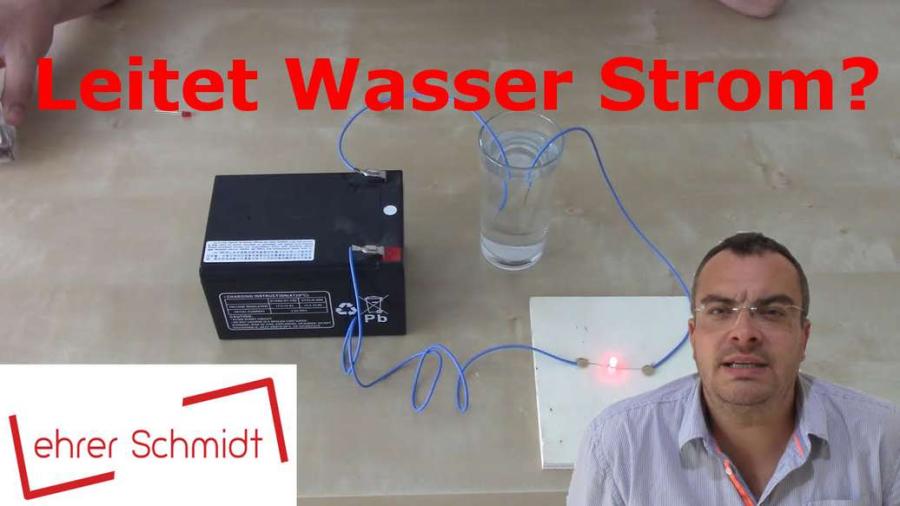 Cover: Experiment: Leitet Wasser Strom?