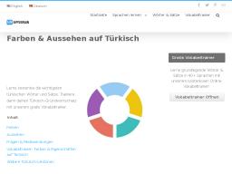 Cover: Farben & Aussehen auf Türkisch - App2Brain